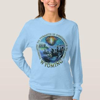 T-skjortor Wyoming för party för Glenn BeckTea Tee
