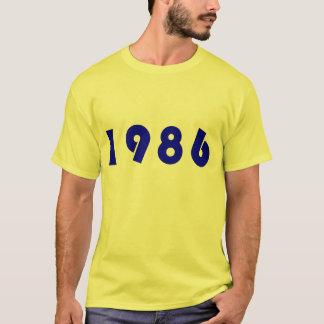 T-tröja 1986 tee shirt