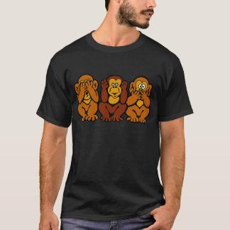 T-tröja för 3 lite apor tröjor
