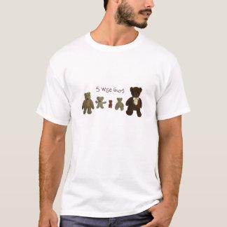 T-tröja för 5 klok grabbar tröjor
