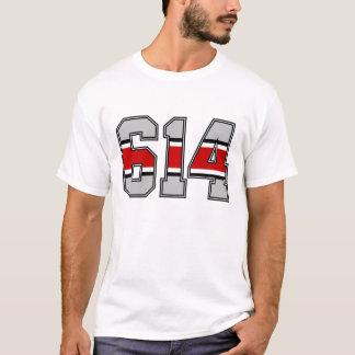 T-tröja för 614 riktnummer tshirts