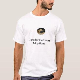 T-tröja för adoption för Labrador Retriever T-shirt