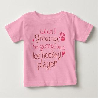 T-tröja för baby för ishockeyspelare (framtid) tshirts