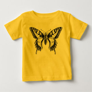 T-tröja för baby för teckning för Swallowtail Tröjor