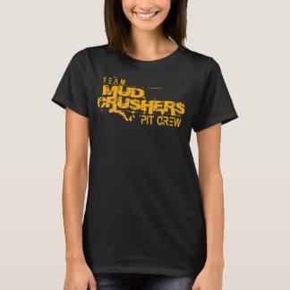 T-tröja för besättning för grop för krossar för t shirt