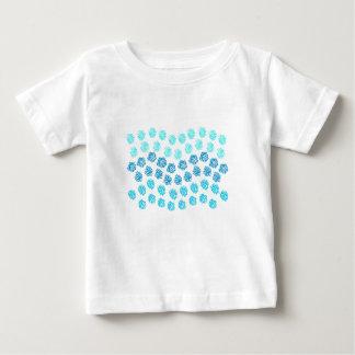 T-tröja för blåttvågarbaby tee shirt