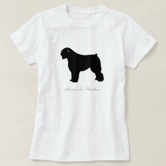 T-tröja för Bouvier des Flandres (den svart T Shirts