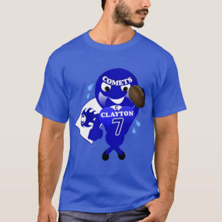 T-tröja för Clayton kometfotboll T-shirts