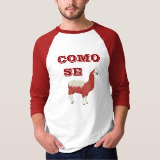 T-tröja för COMO-SE-LLAMA Tee Shirts