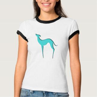 T-tröja för damer för vinthund-/Whippet