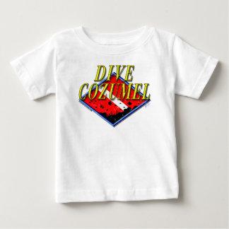 T-tröja för dykCozumel spädbarn T Shirts