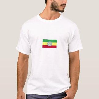T-tröja för Etiopien flaggaRinger Tee Shirt