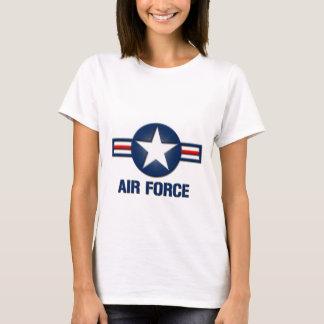T-tröja för flygvapenlogotypdamer t-shirts