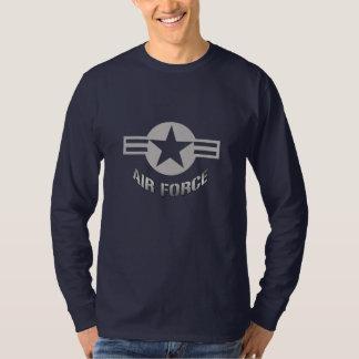 T-tröja för flygvapenlogotyplångärmad t shirts