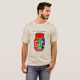 T-tröja för Gif-jordnötsmör Tshirts