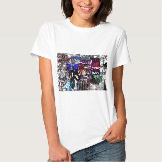 T-tröja för grafittipersonligdamer tee shirts