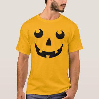 T-tröja för Halloween pumpaansikte Tröjor