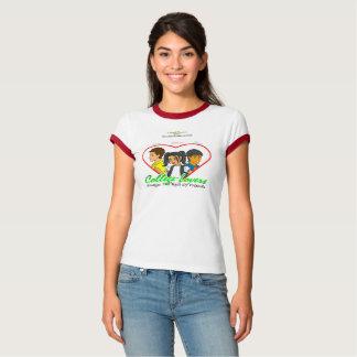 T-tröja för högskolaälskareBella kanfas Tshirts