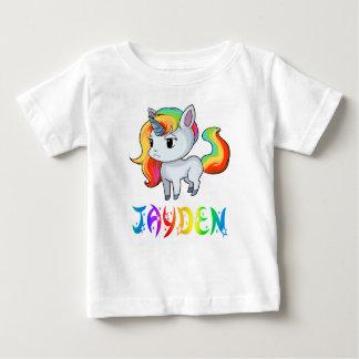 T-tröja för Jayden Unicornbaby T Shirt