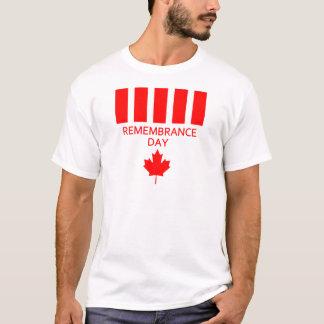 T-tröja för Kanada minnedag Tröjor