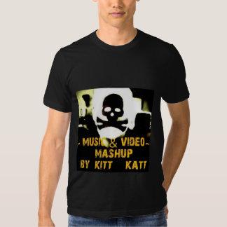 T-tröja för kaTT för Mashup musikkiTT Tröjor