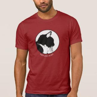 T-tröja för katt för Mista bumusik, mörk T Shirt