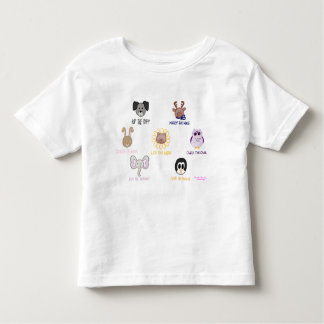 T-tröja för Keiki Aloha babyAni-vän-imals småbarn Tee Shirt