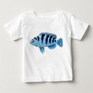 T-tröja för Kennyi tropisk fiskspädbarn Tee Shirt