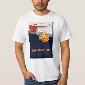 T-tröja för knoppMoodler basket Tee Shirts