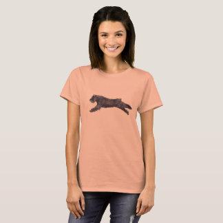 T-tröja för konst för hund för Bouvier des Tee