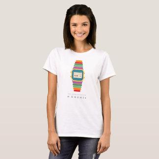 T-tröja för konst för pop för klocka för Time | Tröjor