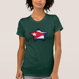 T-tröja för Kubastjärnaflagga T-shirts