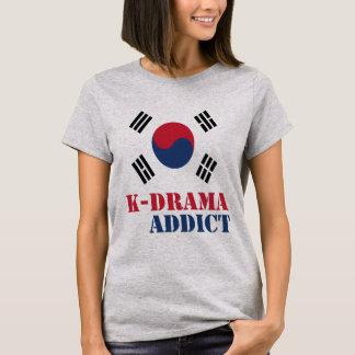 T-tröja för kvinnor för feber för K-Drama Tshirts
