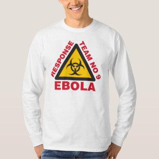 T-tröja för långärmad för Ebola svarslag Tröja