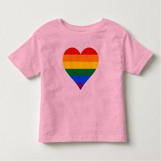 T-tröja för LGBT-pridehjärta Tee Shirt