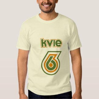 T-tröja för logotyp för KVIE-70-tal Retro T-shirt
