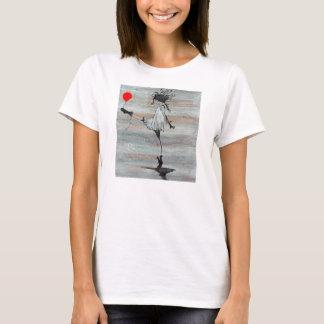 T-tröja för Luna Luna tumultflicka Tee Shirt