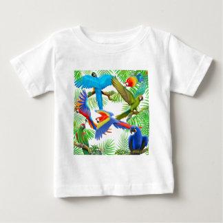 T-tröja för Macawdjungelspädbarn T Shirt