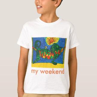 """T-tröja """"för min helg"""" tee shirt"""