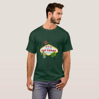 T-tröja för mörk för PAPPALas Vegas St Patrick dag Tee Shirt