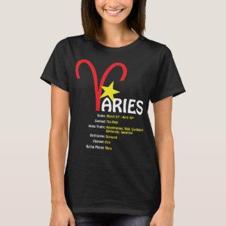 T-tröja för mörk för vädurdragdamer tee shirt