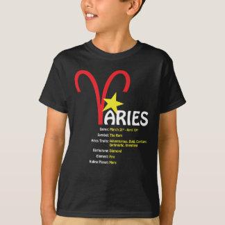 T-tröja för mörk för vädurdragungar t-shirts