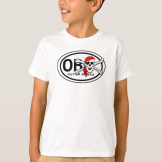 T-tröja för OBX-skalle- och Crossbonespiratungar Tee