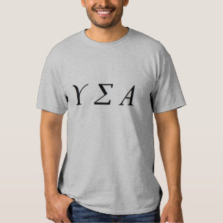 T-tröja för officiell för Upsilon Sigmaalfabetisk Tröja