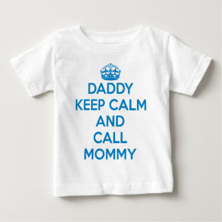 T-tröja för pappabehållalugn (blått) tshirts