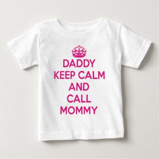 T-tröja för pappabehållalugn (rosor) t-shirts