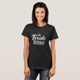 T-tröja för party för brudSquadmöhippa T-shirt