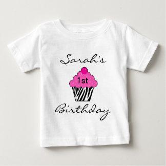 T-tröja för personligfödelsedagmuffin tröjor