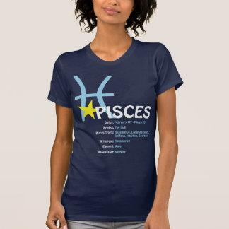 T-tröja för Pisces dragdamer Tröjor