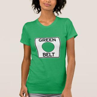 T-tröja för Pittsburgh gröntbälte (dam snitt) Tshirts